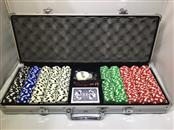 THE ULTIMATE DINING CARD POKER GAME SET